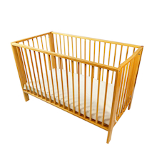 Wooden Folding Cot and Mattress  medium