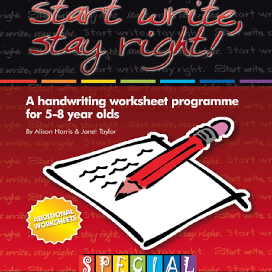 Buy Start Write Stay Right 2 Handwriting Worksheets Tts International