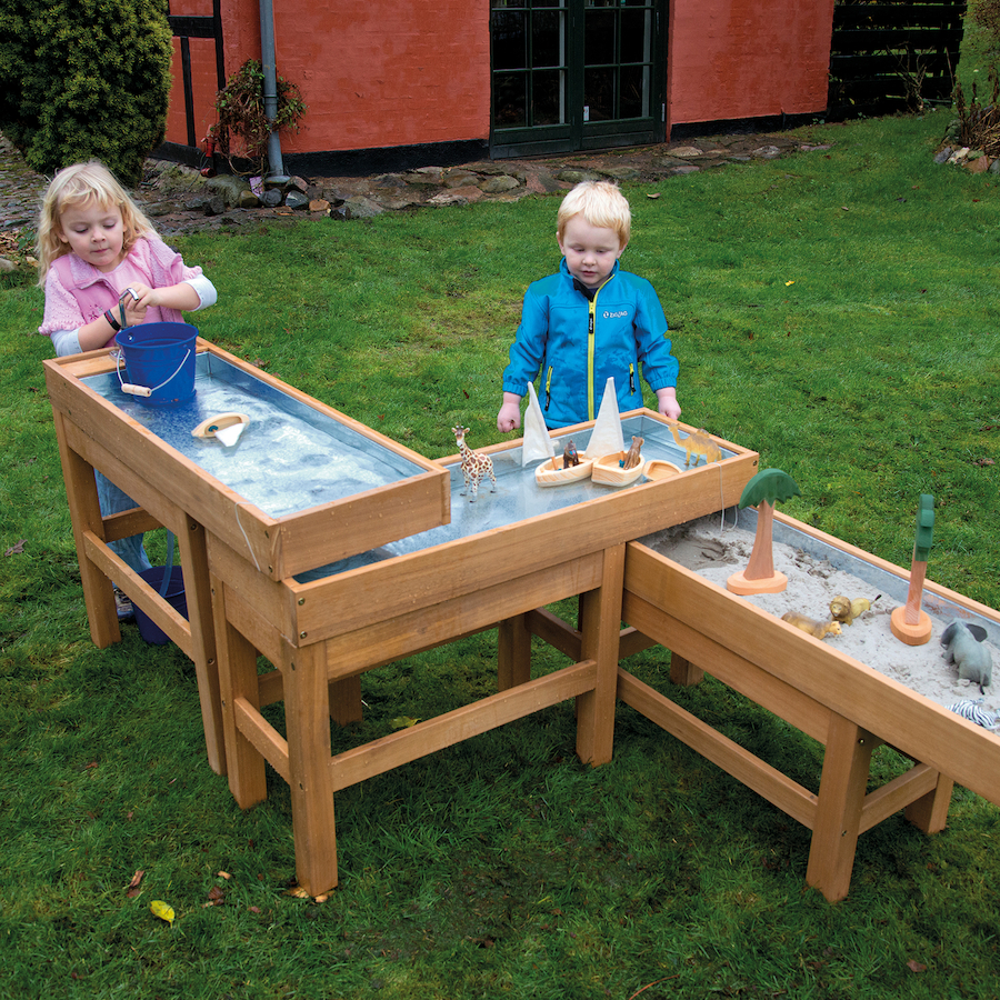 Outdoor water and sand table with pump large tts school resources online shop