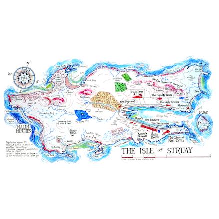 Isle Of Struay Map Buy Local Geography Isle of Struay Storymap   TTS International Isle Of Struay Map