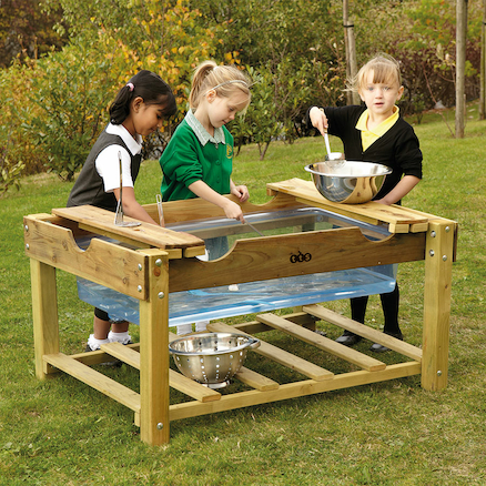 Outdoor Sand \x26 Water Play Unit  large