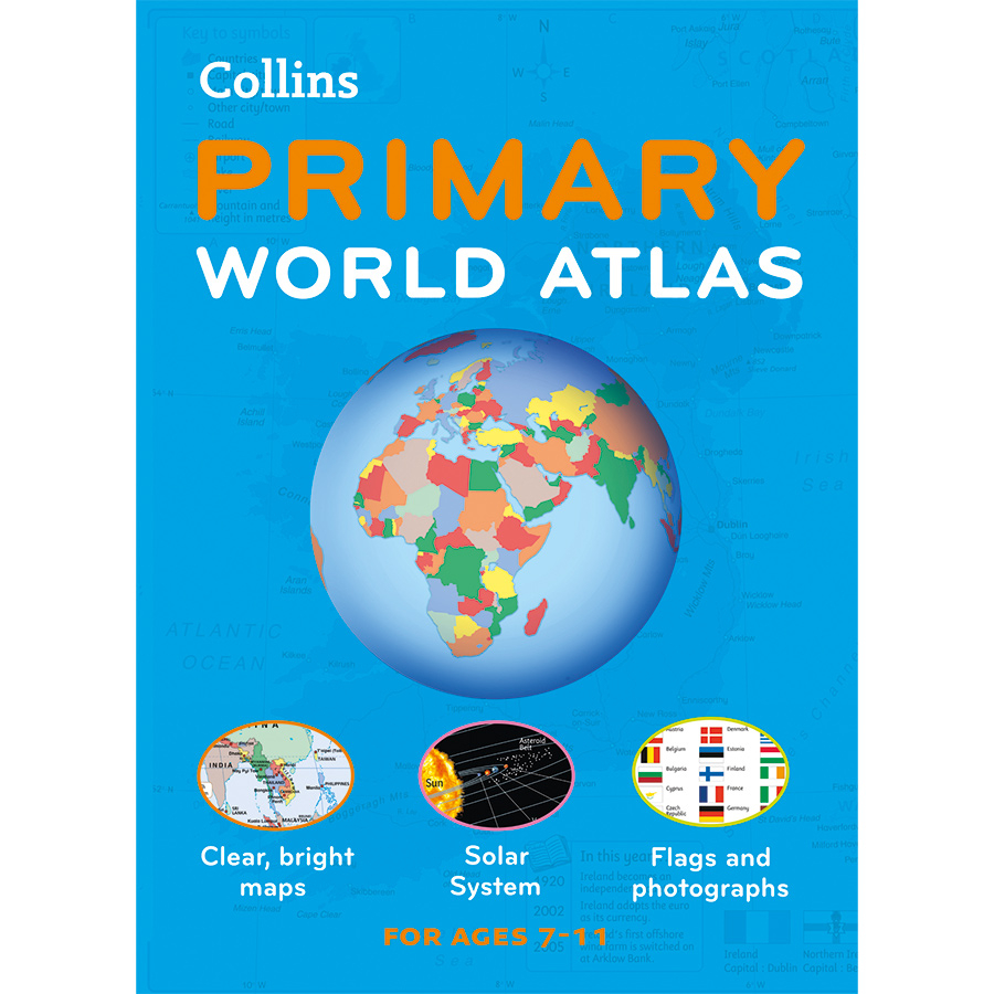 Buy collins primary world atlas tts international collins primary world atlas gumiabroncs Image collections