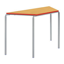 Crush Bent PU Edge Trapezoid Tables  medium