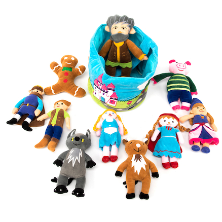 Buy Fairytale Characters in a Soft Basket | TTS International