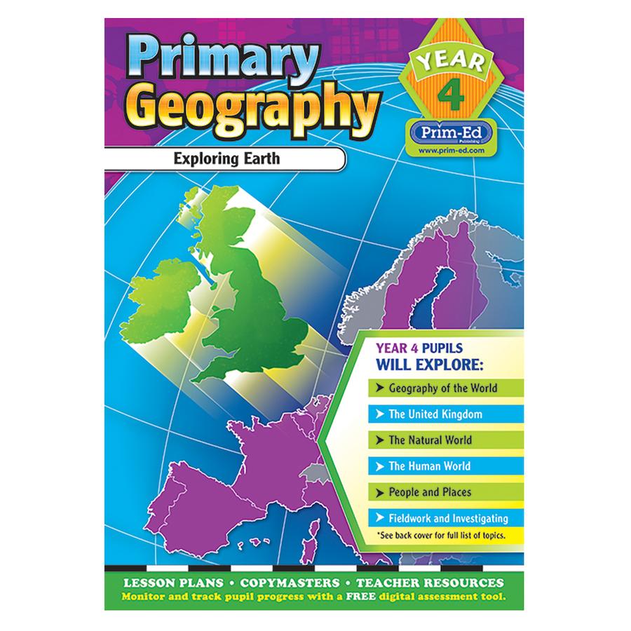 Primary Geography Teacher's Books