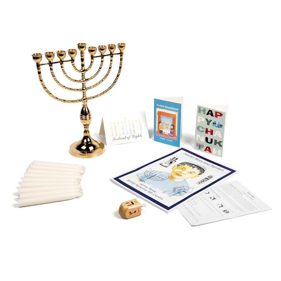 Buy Jewish Hanukkah Festival Artefacts Tts International Menorah Lighting Diagram Collection Large School Resources Online Shop