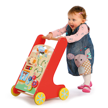 Wooden Baby Activity Walker  medium