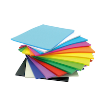Vivid Lightweight Card Stack 125gsm 500pk  medium
