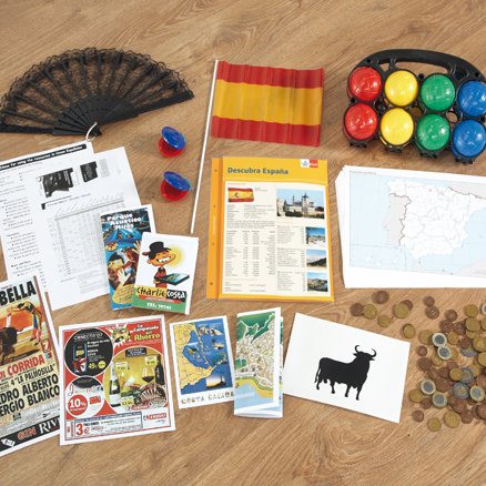 Spanish Country and Culture Artefacts Pack  large