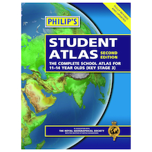 Philip's Essential Atlas UKS2 / KS3  medium