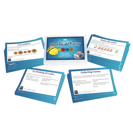 Bee-Bot Maths Activity Cards large