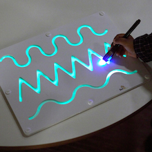 Wooden Pattern Glow Board  medium