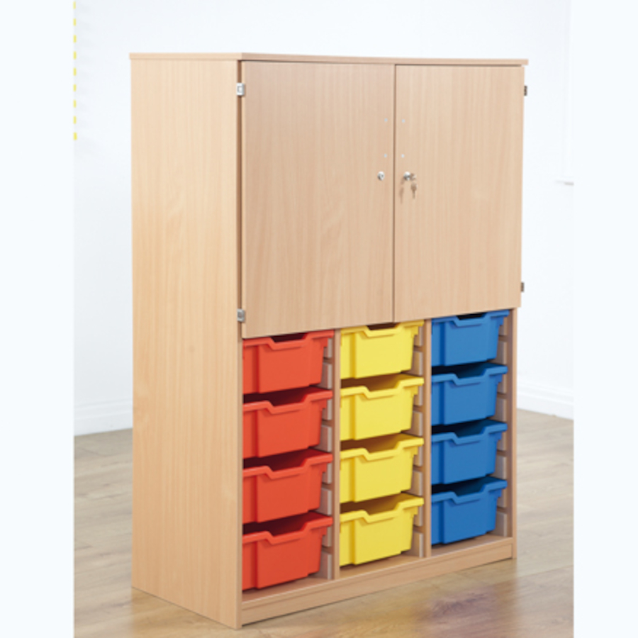 Delicieux Cupboard With Deep Tray Storage