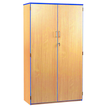 Coloured Edge Lockable Cupboard  medium