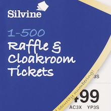Cloakroom and Raffle Tickets 12pk  medium