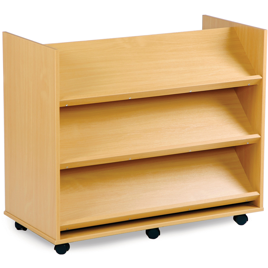 Brand-new Buy Double Sided Book Display Unit with Shelves | TTS International ZH18