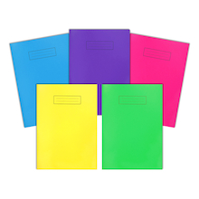 A5 Lined Polyprop Notebook 10pk  medium