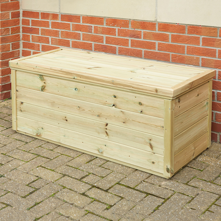 Large Outdoor Wooden Storage Chest  large